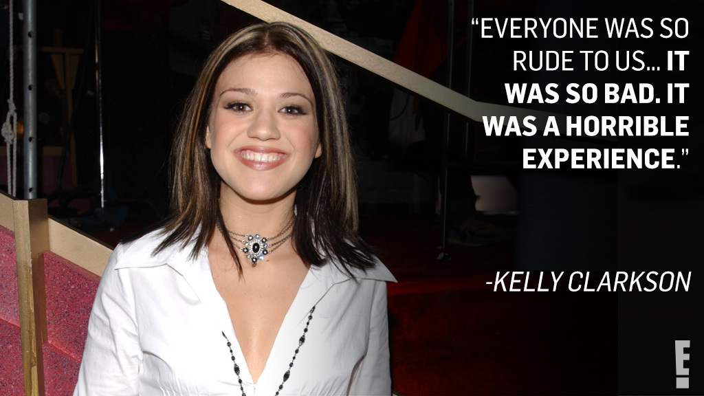 If what doesn't kill you makes you stronger, then Kelly Clarkson must be very strong from her introduction to Hollywood.