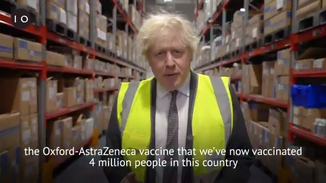 It was incredible to see the @OxfordVacGroup / @AstraZeneca vaccine being manufactured.   This low-cost, fridge-safe vaccine is a huge part of our vaccination programme to protect the vulnerable and fight back against the virus.