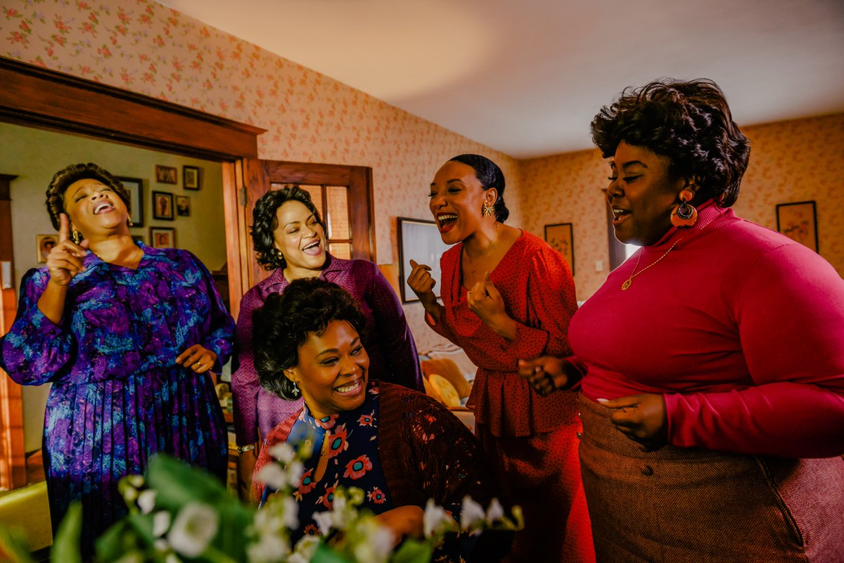 Thank you so much to @CriticsChoice for the nomination for best movie made for television for #TheClarkSisters : First Ladies of Gospel! We are so honored!❤️ @kierrasheard @AngelaBirchett @SheleaMusic   @ravengoodwin @aunjanuejlt @IAMQUEENLATIFAH   @maryjblige @MissyElliott