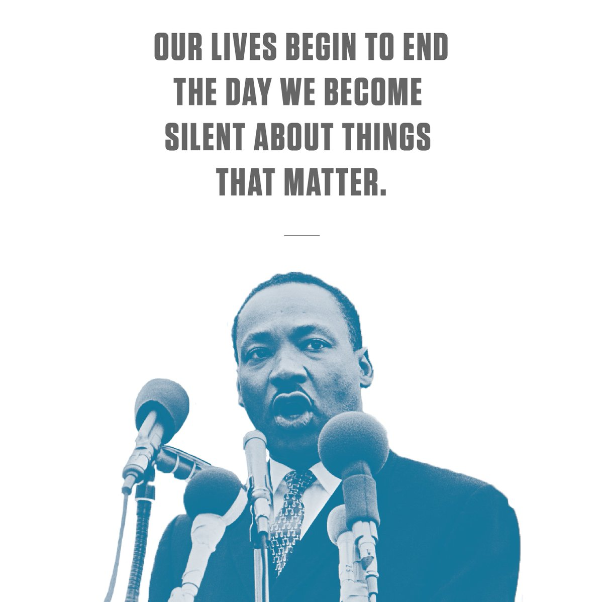 Today we honor the life and legacy of Dr. Martin Luther King Jr. and his work as a civil rights leader. Happy #MLKDay!