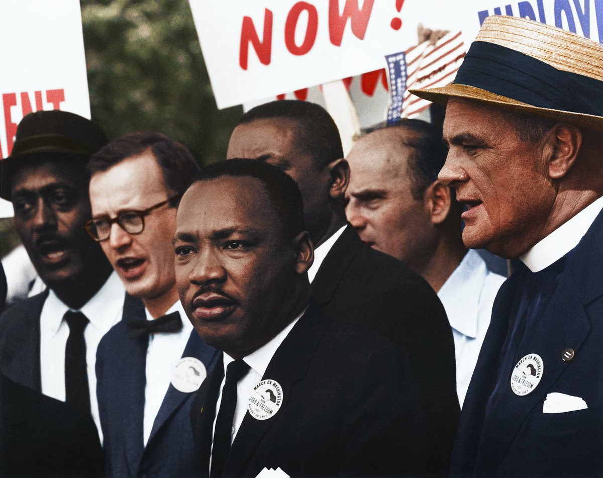 "Sorry Dr. King. 58 years later, we're still till trying to (figure out how to) live the dream. Fortunately, as you said, ""The time is always right to do what is right."", and that is exactly what we must all do today, and the next day, and the next. #mlkjr #MLKday  #MLKDay2021"