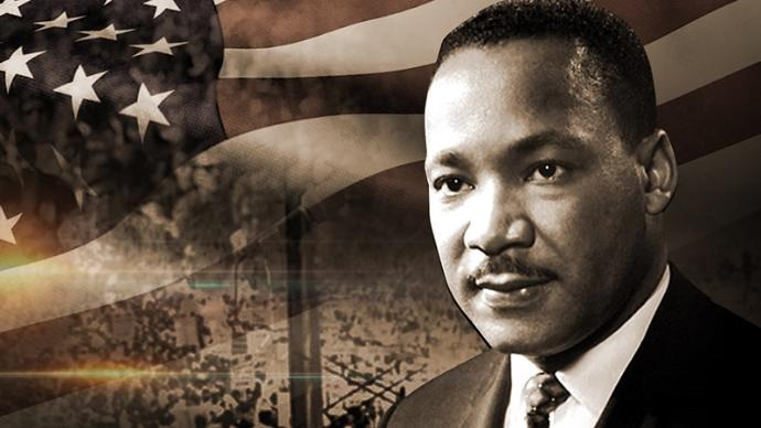 """Honoring #MLKJr today and his enduring, uplifting legacy: """"If you can't fly then run, if you can't run then walk, if you can't walk then crawl, but whatever you do you have to keep moving forward."""" #MLKDay2021"""