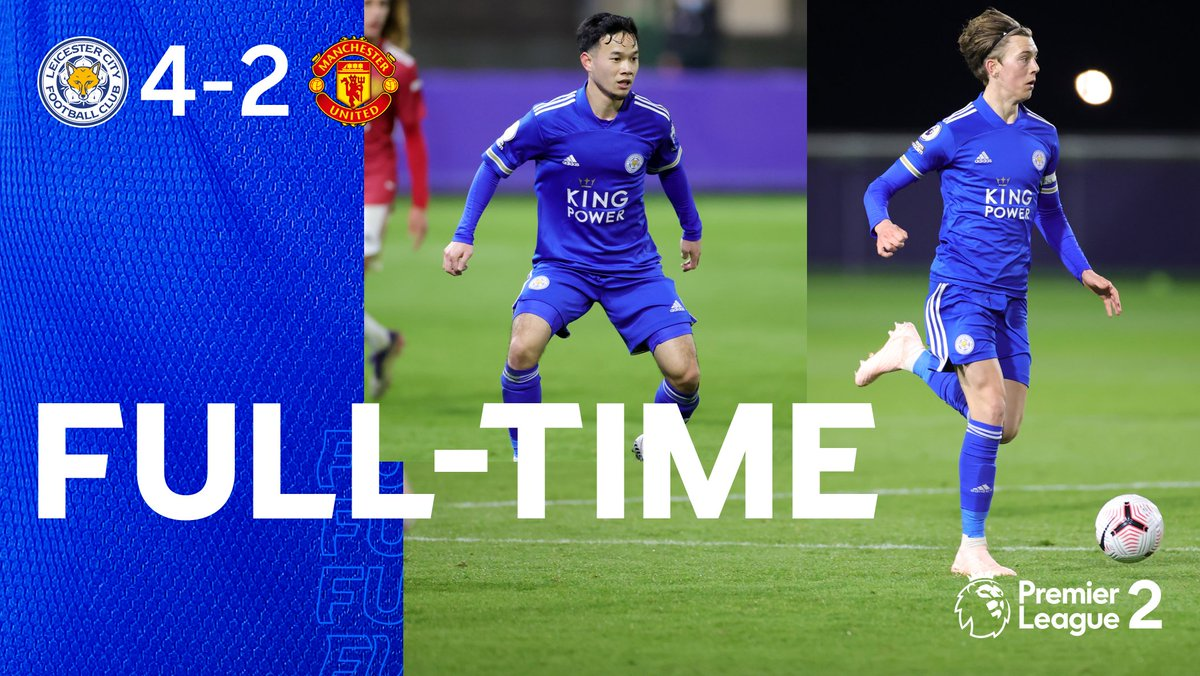 A big W for the Foxes!  #lcfcu23s 🔵