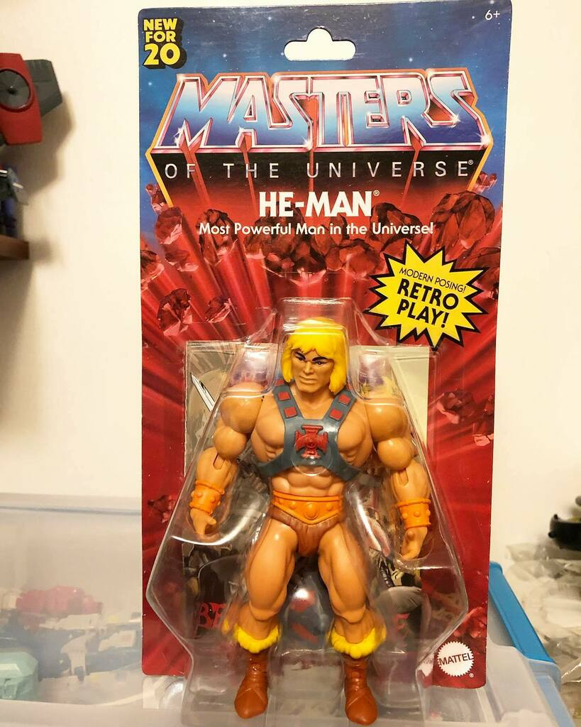 Masters of the Universe Origins He-man, found at Target #heman #motu #motuorigins