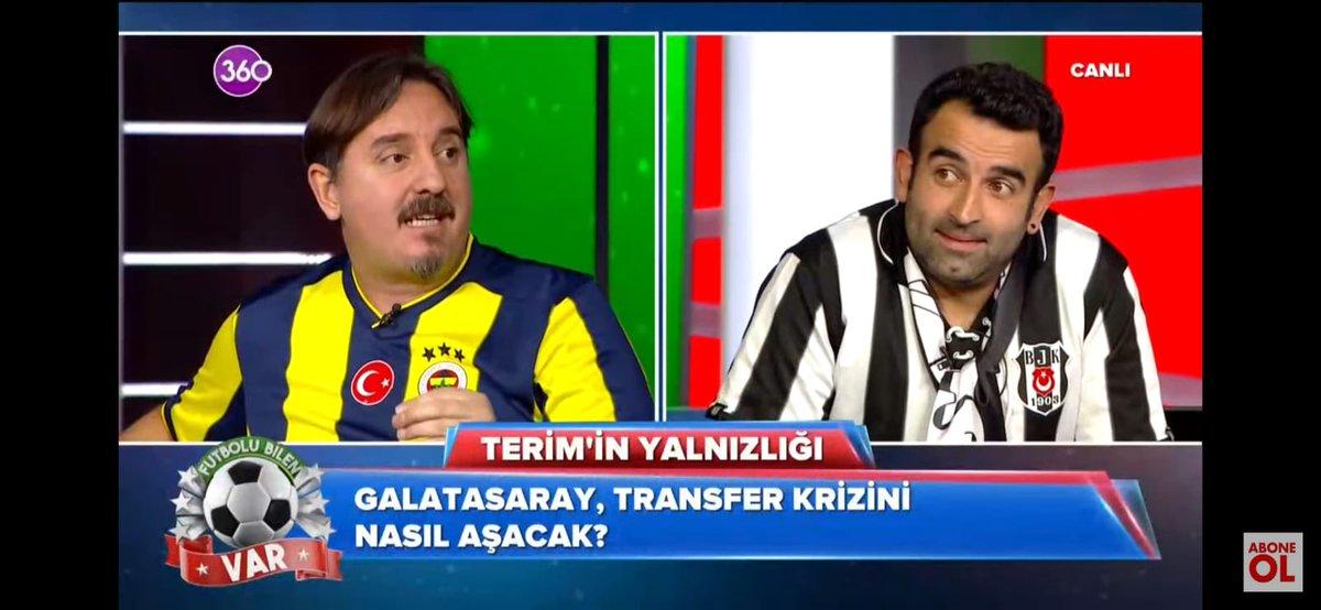 #FutboluBilenVar @GalatasaraySK transfer krizini VAR ekibi detaylarıyla konuşuyor. #Galatasaray @canerkarauc @canerguler