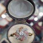Image for the Tweet beginning: Original Edwardian Diamond