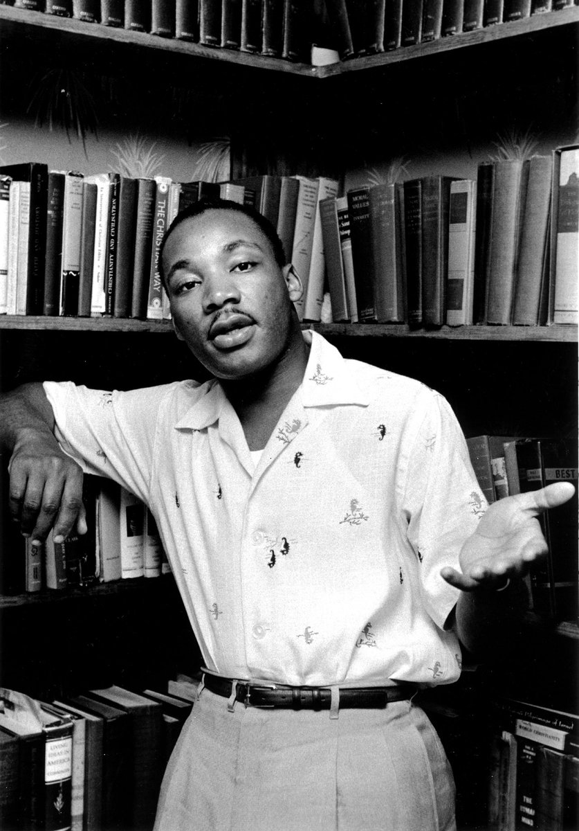 """""""All labor that uplifts humanity has dignity and importance and should be undertaken with painstaking excellence."""" - Martin Luther King Jr. 🇺🇸 #MLK #MLKDay2021 #MLKJr"""