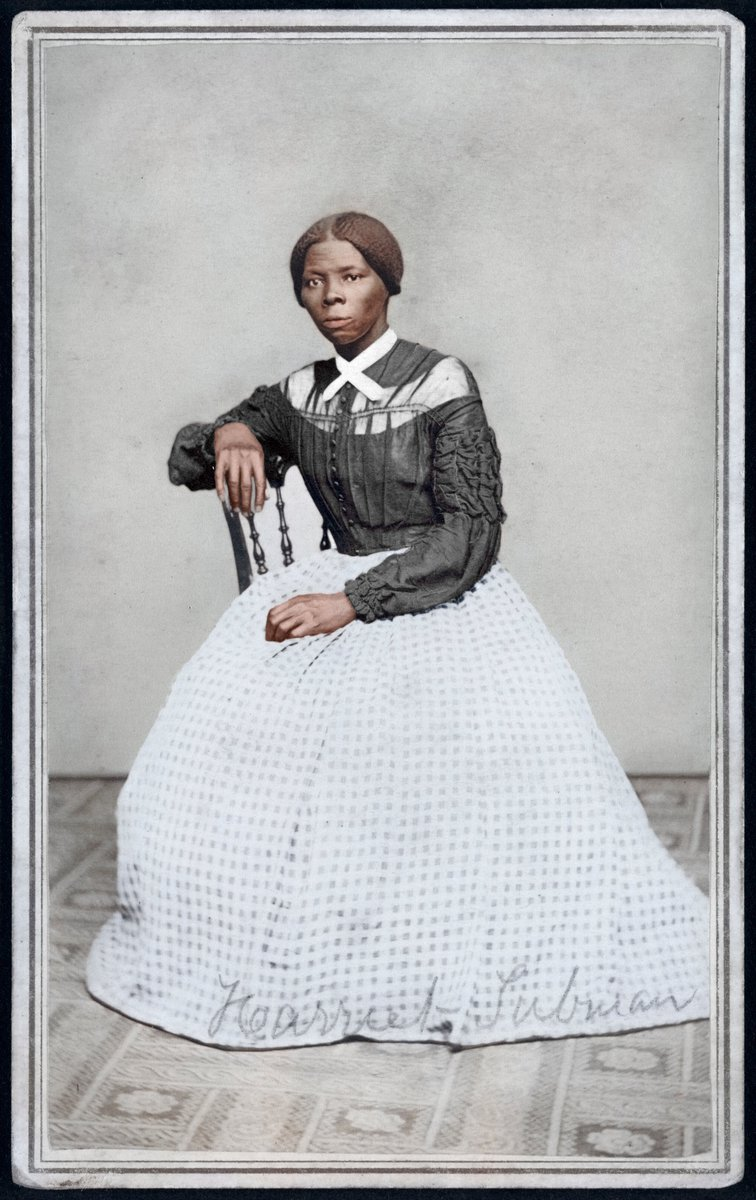 Harriet Tubman, one of the bravest women of the 19th Century. #MLKJr #MartinLutherKingDay #Abolitionist #History #usa #hero #bebrave #photography #PHOTOS
