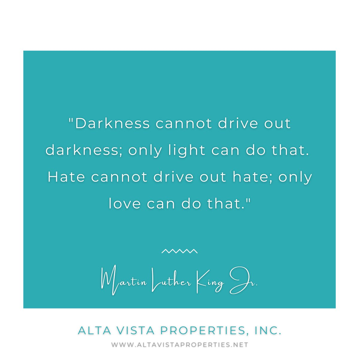 """Darkness cannot drive out darkness; only light can do that. Hate cannot drive out hate; only love can do that."" - Martin Luther King Jr. ☀️❤️ Choose Love. #Love #Light #Unity #Happiness #Peace #MLK #MartinLutherKingJrDay"