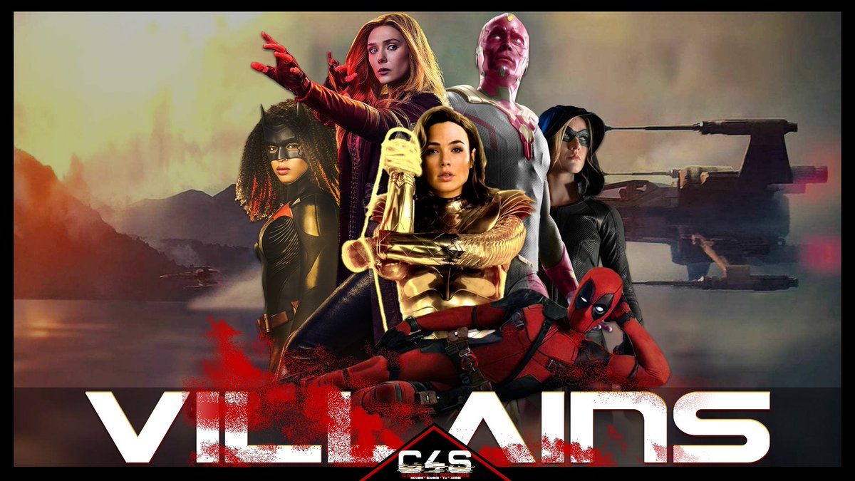 Tonight's the night!  Join @LegendDVash and @jbxclusive at 7pm CST / 8pm EST on the Careful 4 Spoilers YouTube Channel for the first episode of #C4SVillains   #WandaVision  S01E01|02 Review #Batwoman S02E01 Review #Deadpool3 set in the MCU   YouTube Link -