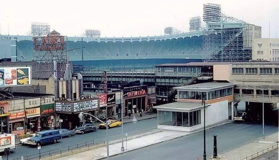 Neat picture of Yankees Stadium
