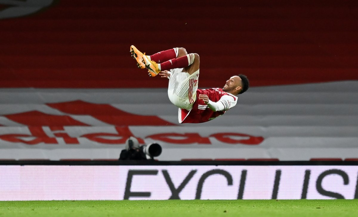 Replying to @AFTVMedia: Classic Auba. Get in.   ❤️️