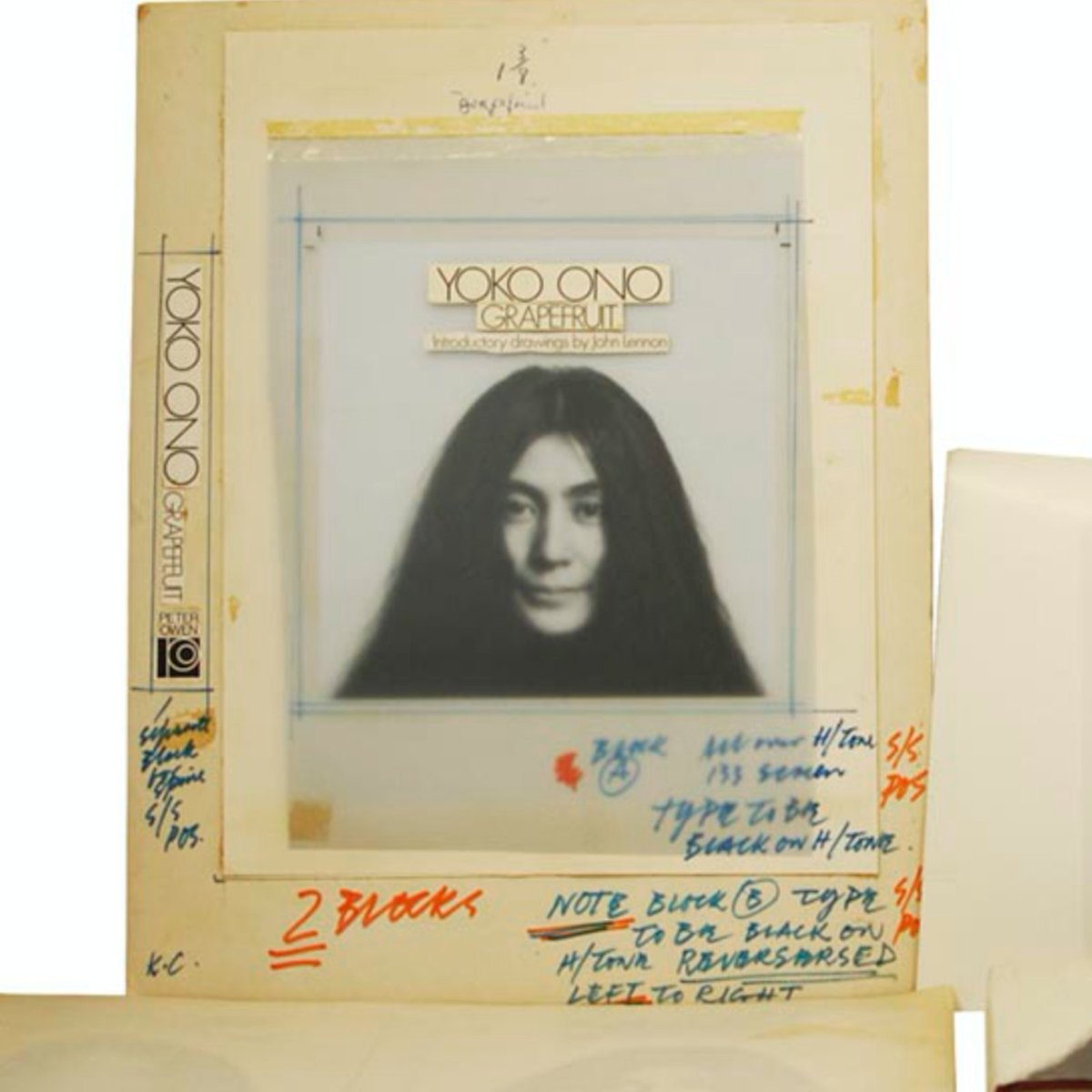 We're one day away from our online discussion 'Music, Painting, Event, Poetry, Object, Film and Dance: A Panel Discussion on @yokoono's 'Grapefruit' (1964)'  with Dave Dyment, Billy-Ray Belcourt, Ayumi Goto, and Suzette Mayr. Jan 19, 4PM MST. Register:
