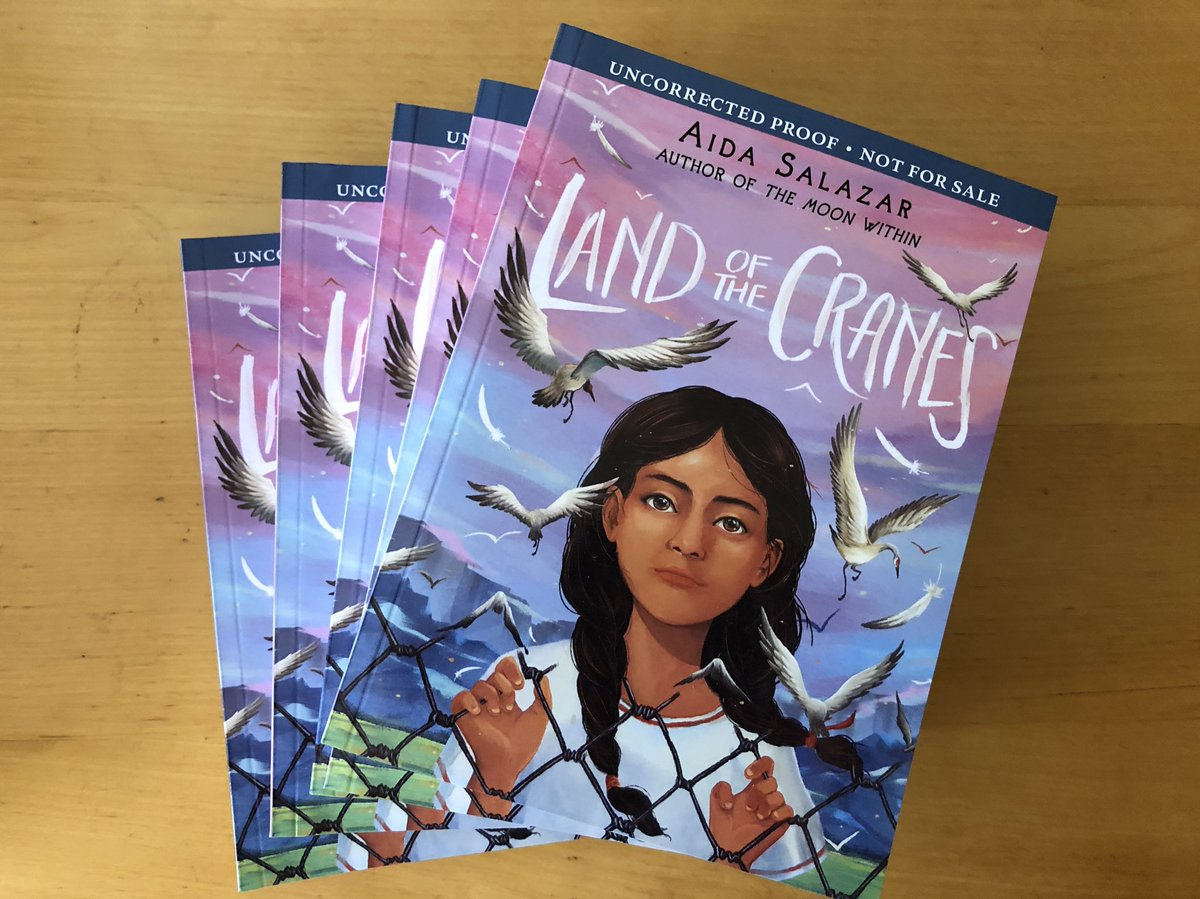#Educators! In honor of Dr. King's legacy of radical love and social justice, I'm giving away a five-book set of ARCs of #landofthecranes! RT and follow for a chance to win. Winner will be chosen at random tonight. #mlk #teachergiveaway #abolishice