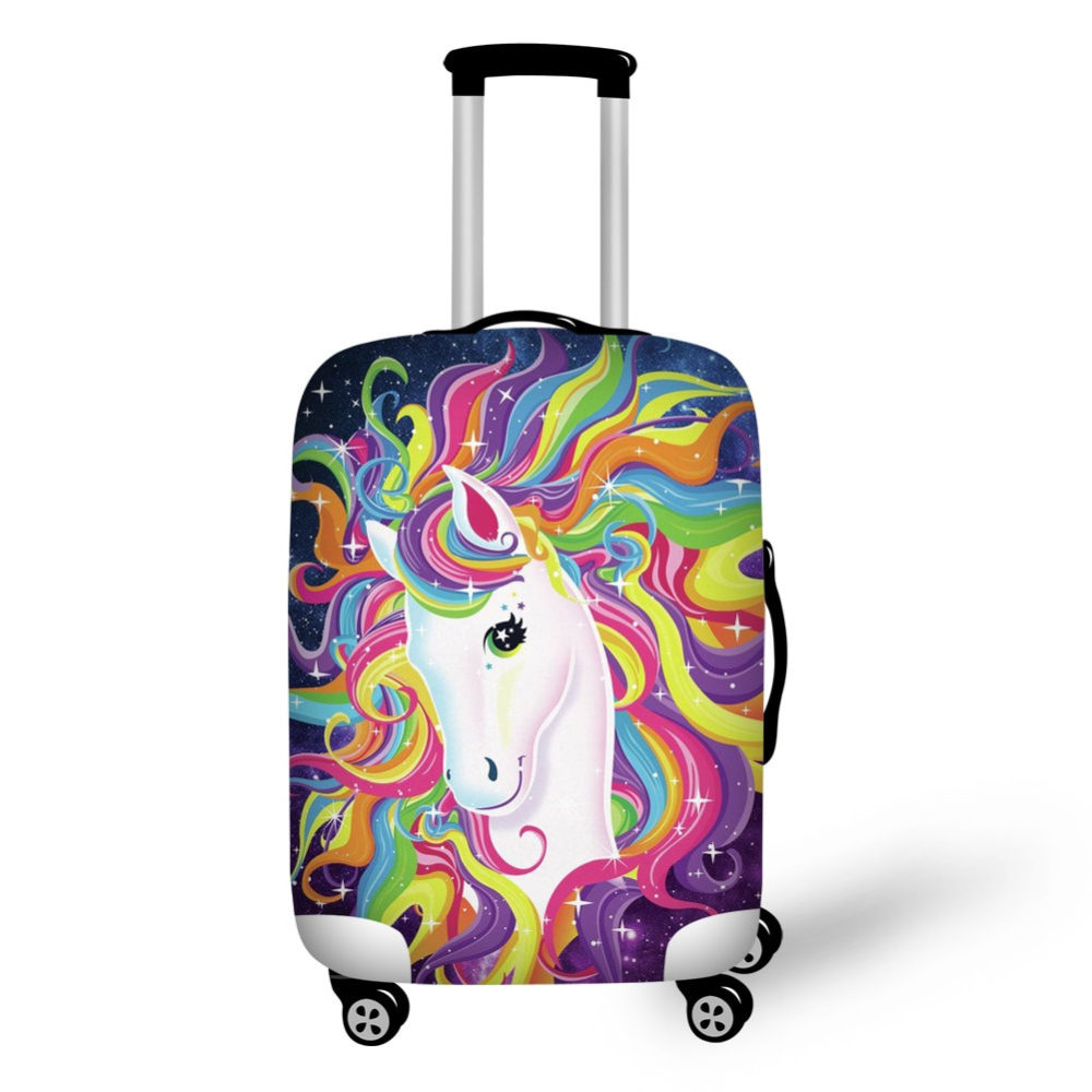 #holiday #traveling #travelling Unicorn Luggage Protective Cover