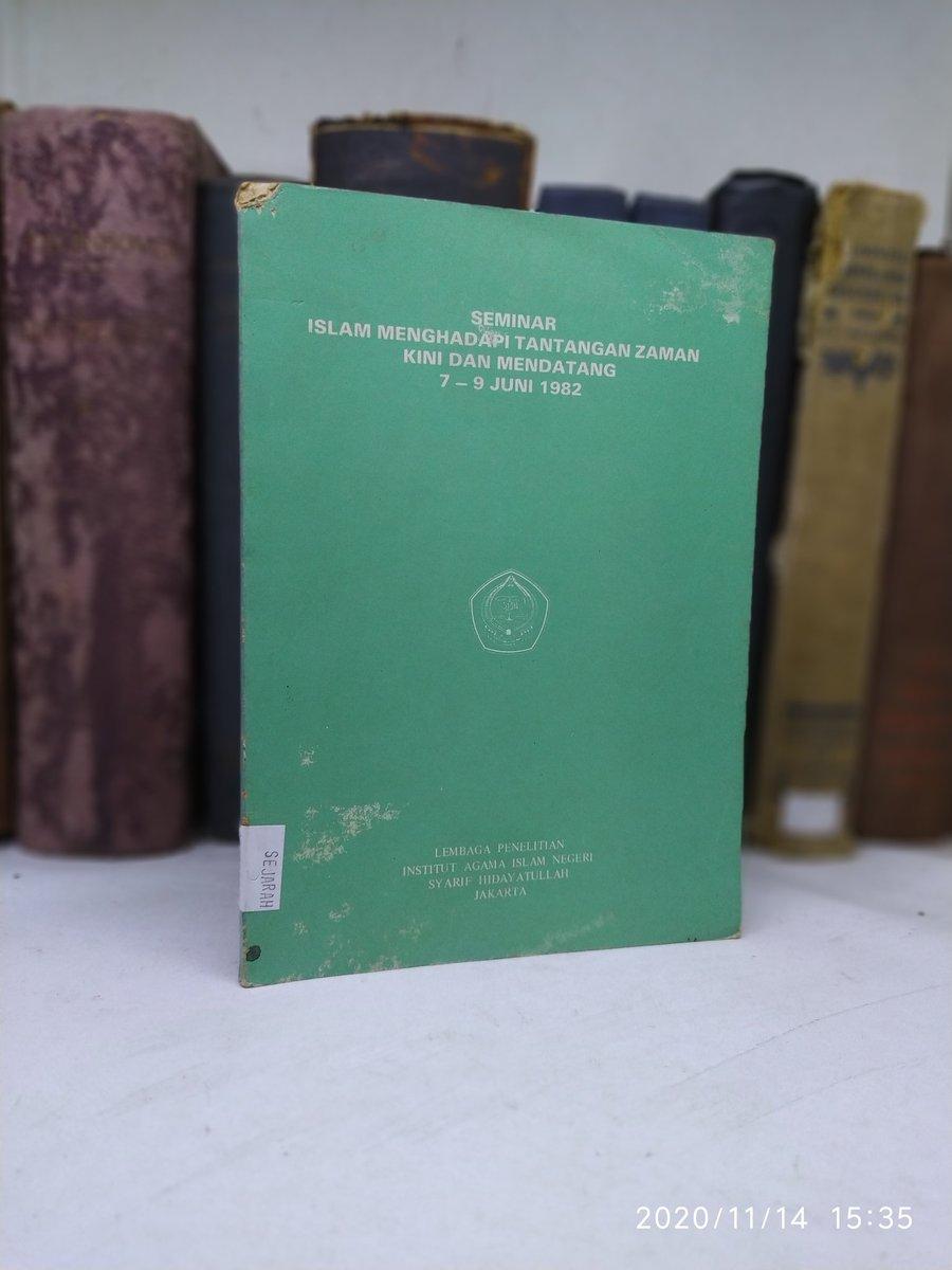 Buku Lawas > Seminar Islam Menghadapi Tantangan Zaman Kini dan Mendatang 7-9 Juni 1982  118 Halaman   Harga 85.000 Minat?   Order: ✓DM or Klik WA https://t.co/xMnymNzYyW https://t.co/ZzaI6hnUif