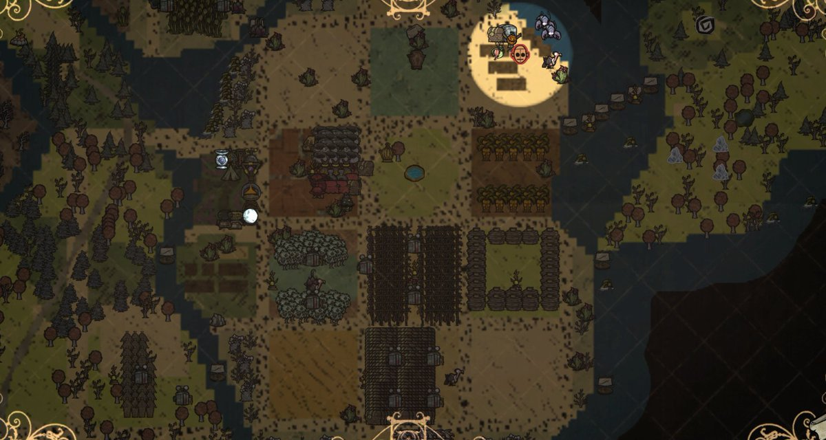 Anyone else ever done a megabase in #DontStarveTogether? This is what almost 600 days looks like for us at the moment!  #dst #dontstarve #gaming