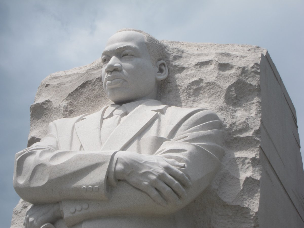 Our nation wouldn't be the same without the instrumental work of Martin Luther King Jr. MLK Jr. paved the way for many to participate in our democracy and allows all voices to be heard.  #mlkjr #democracy #honor #civilrights   Photo by Bee Calder on Unsplash