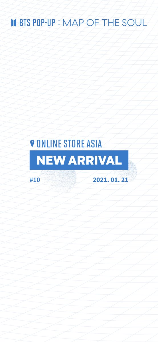 [BTS POP-UP: MAP OF THE SOUL Online Store ASIA]     NEW ARRIVAL #10  Information on the products for the 10th Session of BTS POP-UP Online Store ASIA    10AM, January 21, 2021 (SGT)    👉 Link :     #BTS