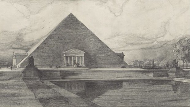 A few pictures of what the Lincoln Memorial could have been