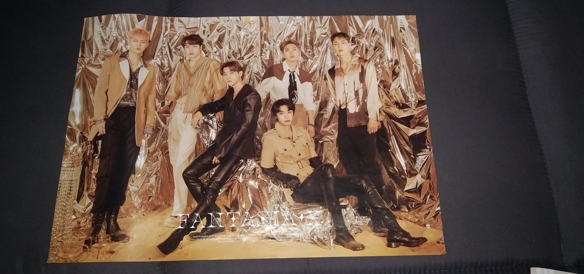 [ WTS / LFB ] PH Only  MONSTA X  FANTASIA X POSTERS  - Official Goods - Came from Pre Order Benefit - All in good condition - 400/pc - if all I'll give it 300/pc  thankyou #MONSTAX #MONBEBE