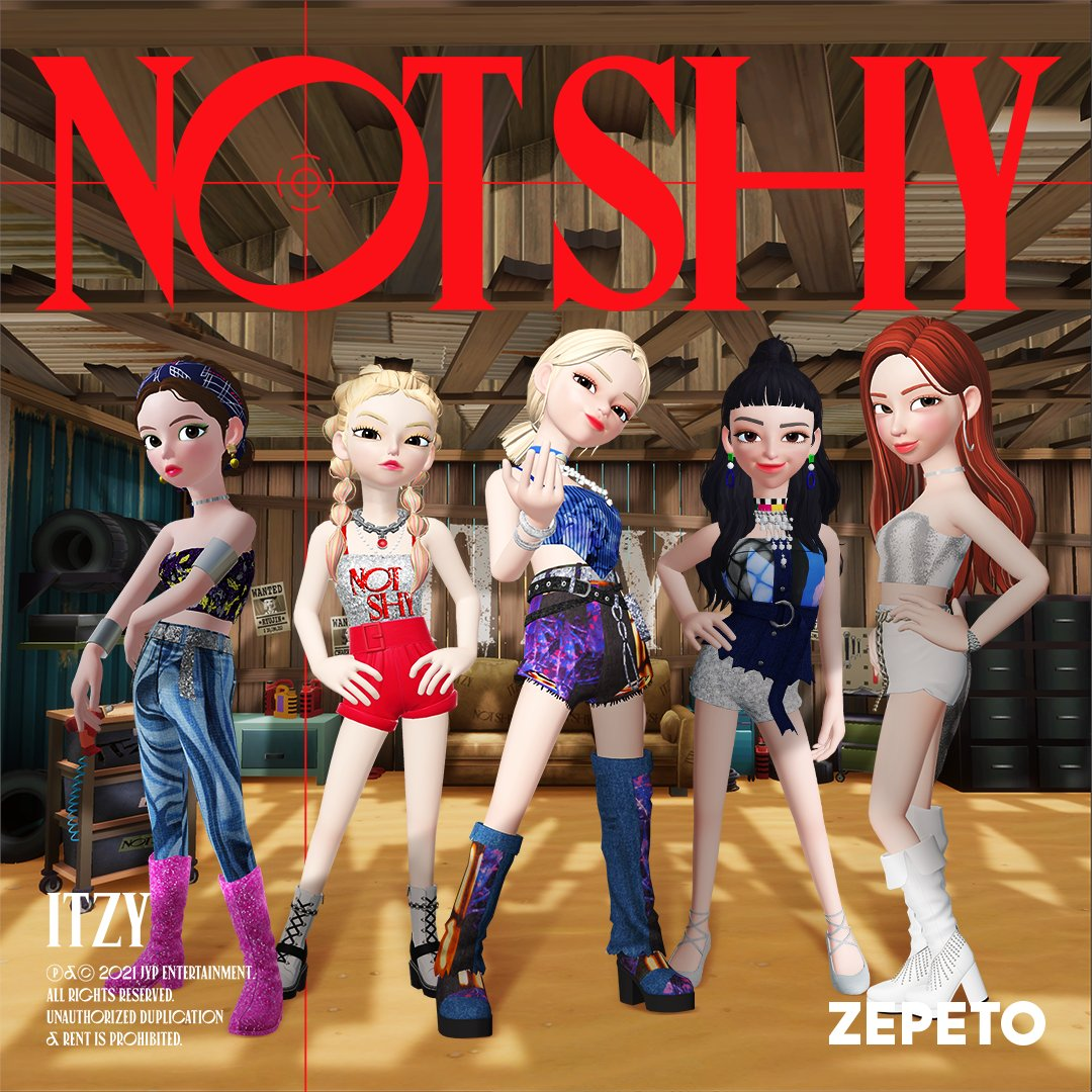 Image result for itzy zepeto