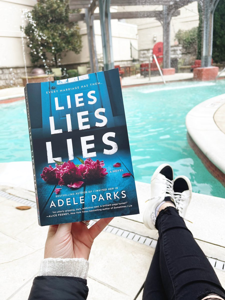 #currentlyreading by @adeleparks and can't put it down! 📚