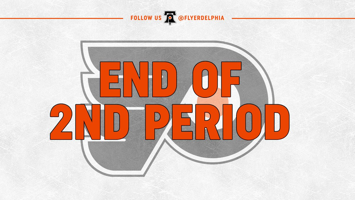 End of 2: #Sabres lead the #Flyers, 4-0. Shots are 26-15 Buffalo. #FlyersTalk