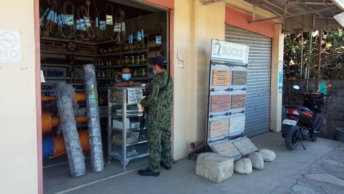 @pnpdpcr @pro1officialtw In relation to Provincial Director's Triple IMPACT Strategies, personnel of Banayoyo MPS conducted inspection to business establishment/industrial supplies at Brgy. Elefante of this municipality. #PNP #IlocosSurProvincialOffice #IlocosSur #GovRyanSingson