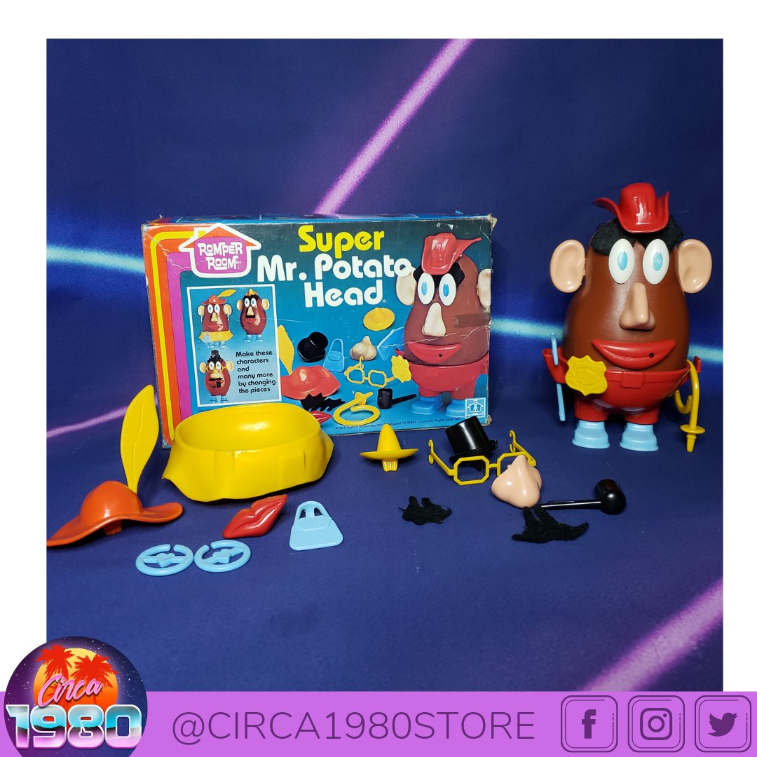 ⚡Newly listed!⚡ 🛍 eBay:   🛍 Mercari:   🛍 FB Marketplace:   #RomperRoom #supermrpotatohead #uraniumglass #heman #motu #hotwheels #hotwheelscollector #goldenbooks