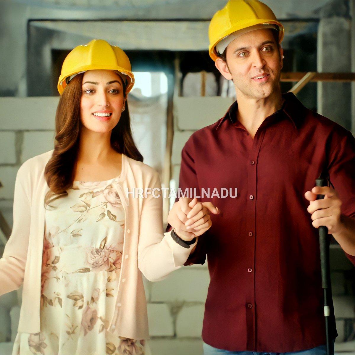 This movie is Love 💖 #kaabil  @iHrithik  @yamigautam   #HrithikRoshan | #Hrfctamilnadu | #YamiGautam