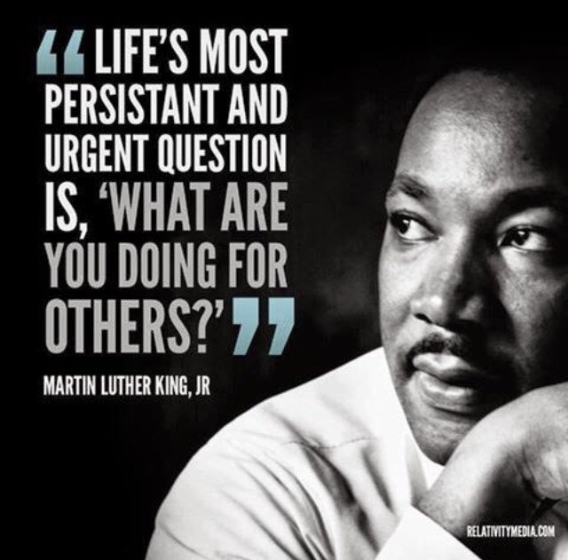 Let's all celebrate MLK day today sharing stories of service with our communities 🎉👏❤️ #MLKDay #MLKDay2021 #MLKDayofService #community #servicelearning #service