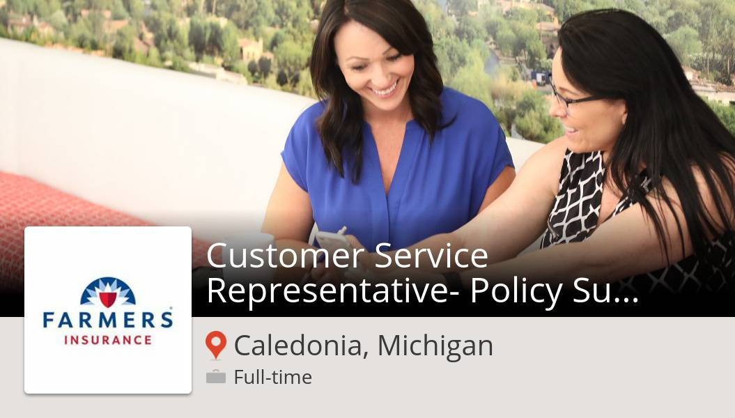 #FarmersInsurance is hiring a Customer #Service Representative- Policy Support #Operations, apply now! (#Caledonia) #job  #WeAreFarmers #FarmersCareers