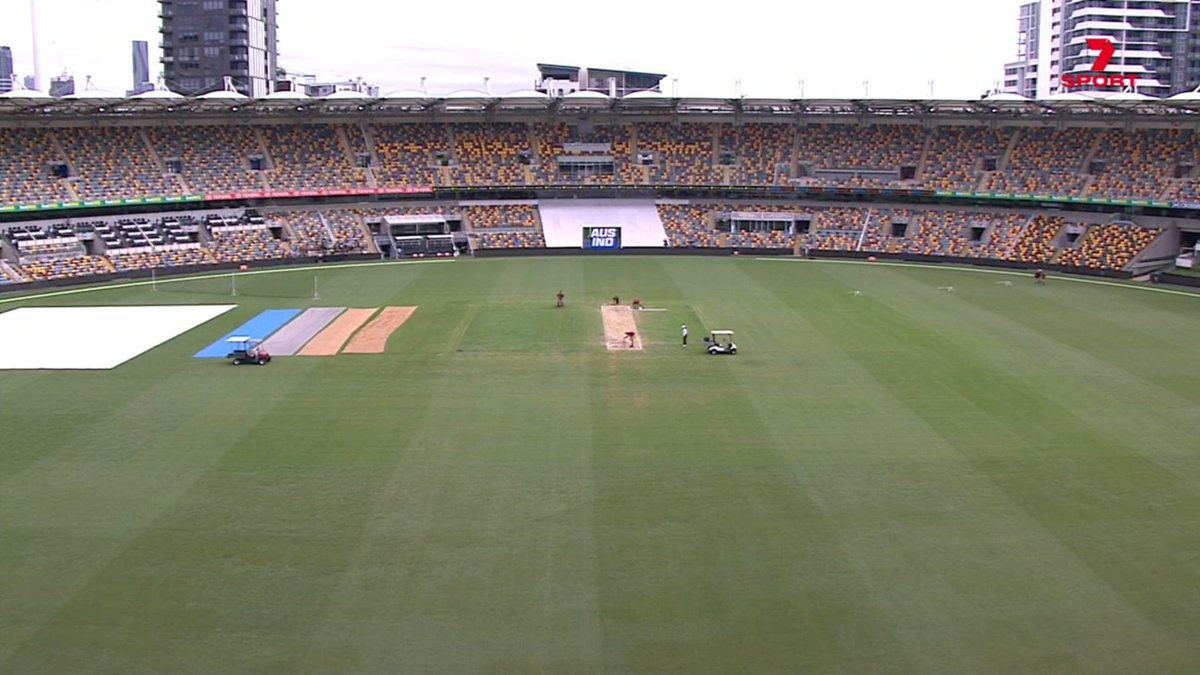 Time for a guessing game - how many overs will be bowled on Day 5? Our commentator predictions:  Brayshaw: 60 Blewett: 61 Ponting: 66 Mitchell: 68 Fleming: 69 Slater: 70 Lane: 75 Gavaskar: 90  #AUSvIND
