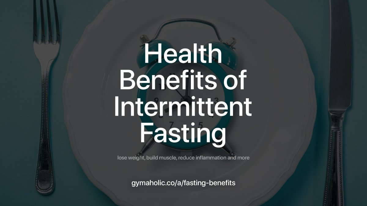 Intermittent fasting has become very popular over the past few years. It is very effective tool to help you lose weight, build muscle, reduce inflammation and more:   #fitness #motivation #workout #fasting #nutrition #gymaholic #weightloss
