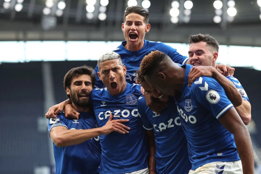 🤯 | Everton could start all four players together in their next fixture against Leicester City for the first time since they travelled to Fulham on the 22nd of November.  #EFC