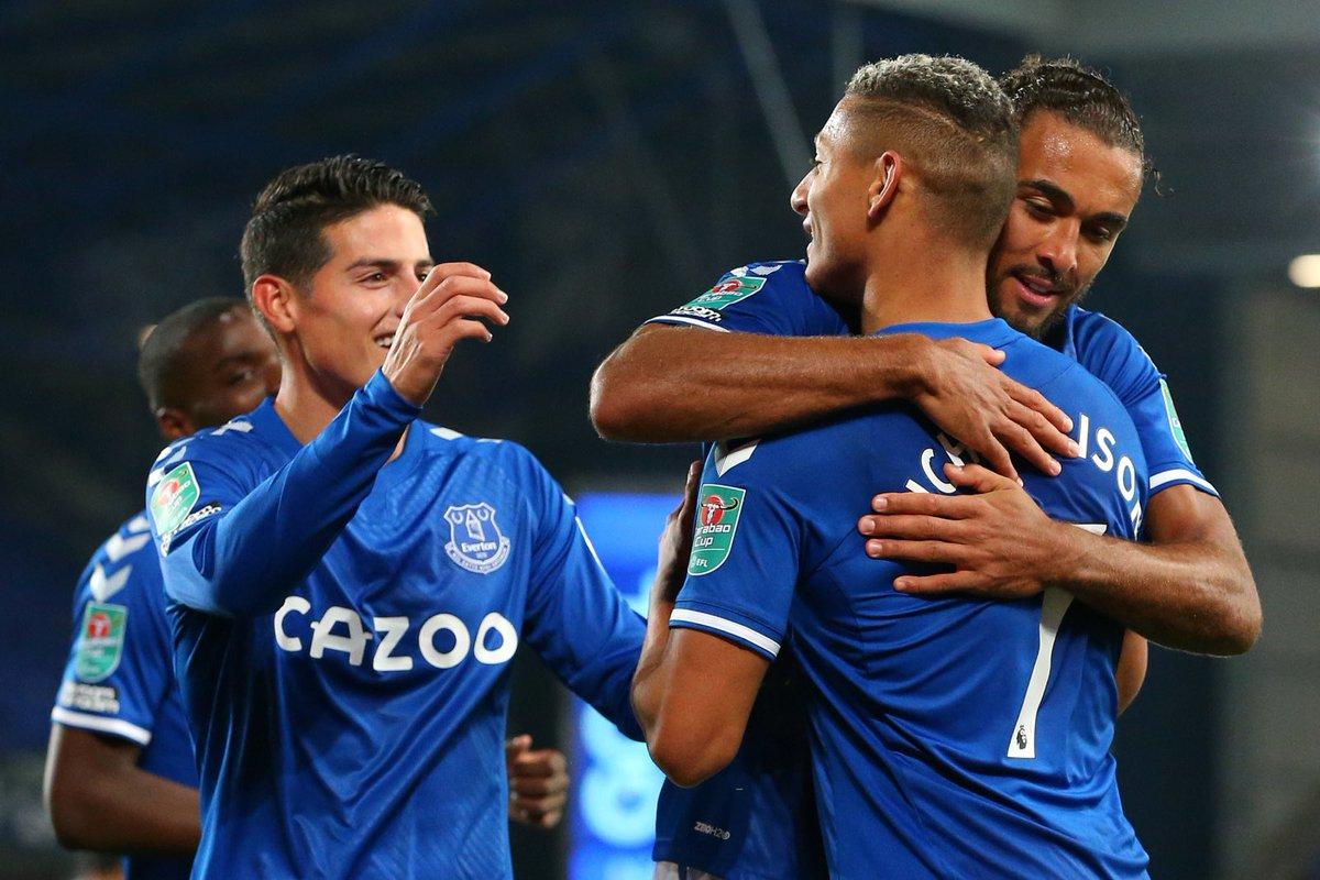 🎯 | Calvert-Lewin scored 57.1%[12] of the goals during this period.  💫 | Rodriguez, Digne and Richarlison assisted 71.4%[15] of the goals during this period.  Service ➡️ DCL ➡️ Goals.  #EFC