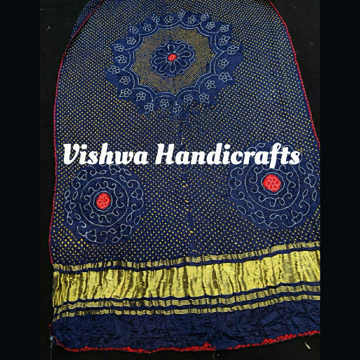 Pure gaji silk Rai bandhej dupatta with zari pallu. #vishwahandicrafts #dupattaonline #bandhej #raidanabandhej #gajisilkdupatta #followforfollow #tissuepallu #ethniclook