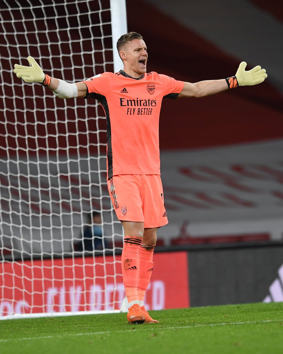 Bernd Leno has now kept 5 clean sheets in a row for @Arsenal:   🧤 vs. Brighton 🧤 vs. West Brom 🧤 vs. Newcastle 🧤 vs. Crystal Palace 🧤 vs. Newcastle https://t.co/bh5YdmDjOw
