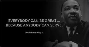 This we must remember...  #SERVICE #MLKDay