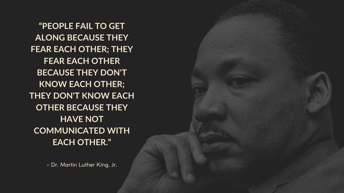 We've got work to do. #MartinLutherKing #MLKDay