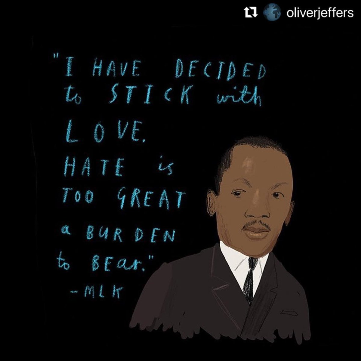 #MLKDay   Let's try this.. today, tomorrow.. always   G'night xx