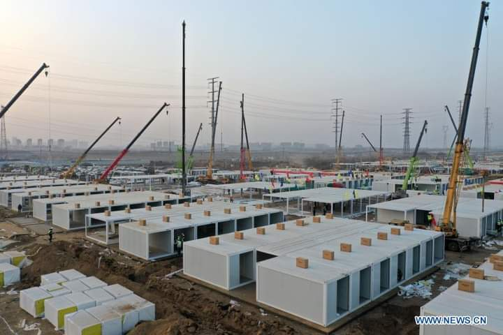 #Shijiazhuang builds new isolation center in #Zhengding County to cope with #COVID19 resurgence.