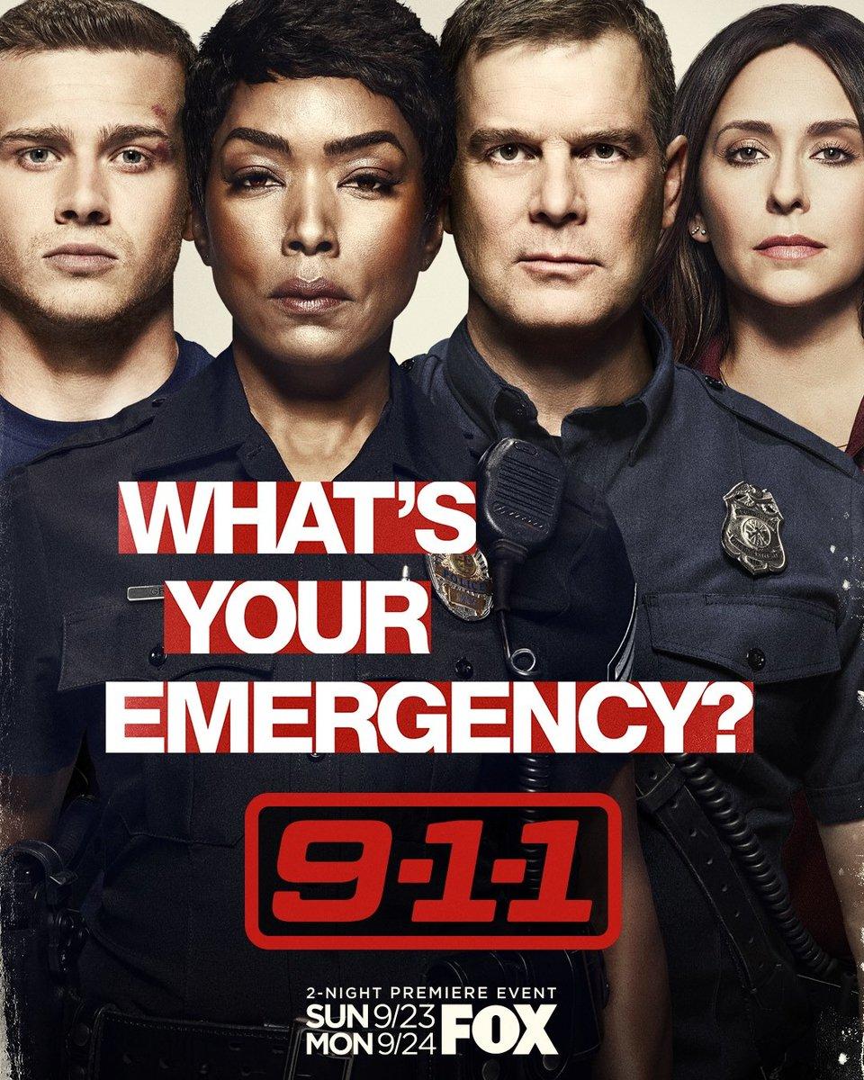 As novas temporadas de 911 e 911: Lone Star estreiam hoje na FOX.