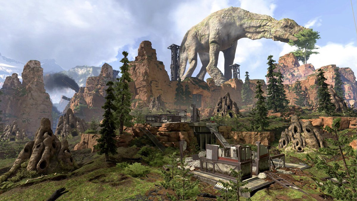 """*HUGE MAP UPDATE* King's Canyon will be returning, but fuse's entrance causes quite a stir resulting in the new map """"Obliterated King's Canyon"""" #apexlegends #season8 #gaming #xbox #likeforlike #followforfollow"""