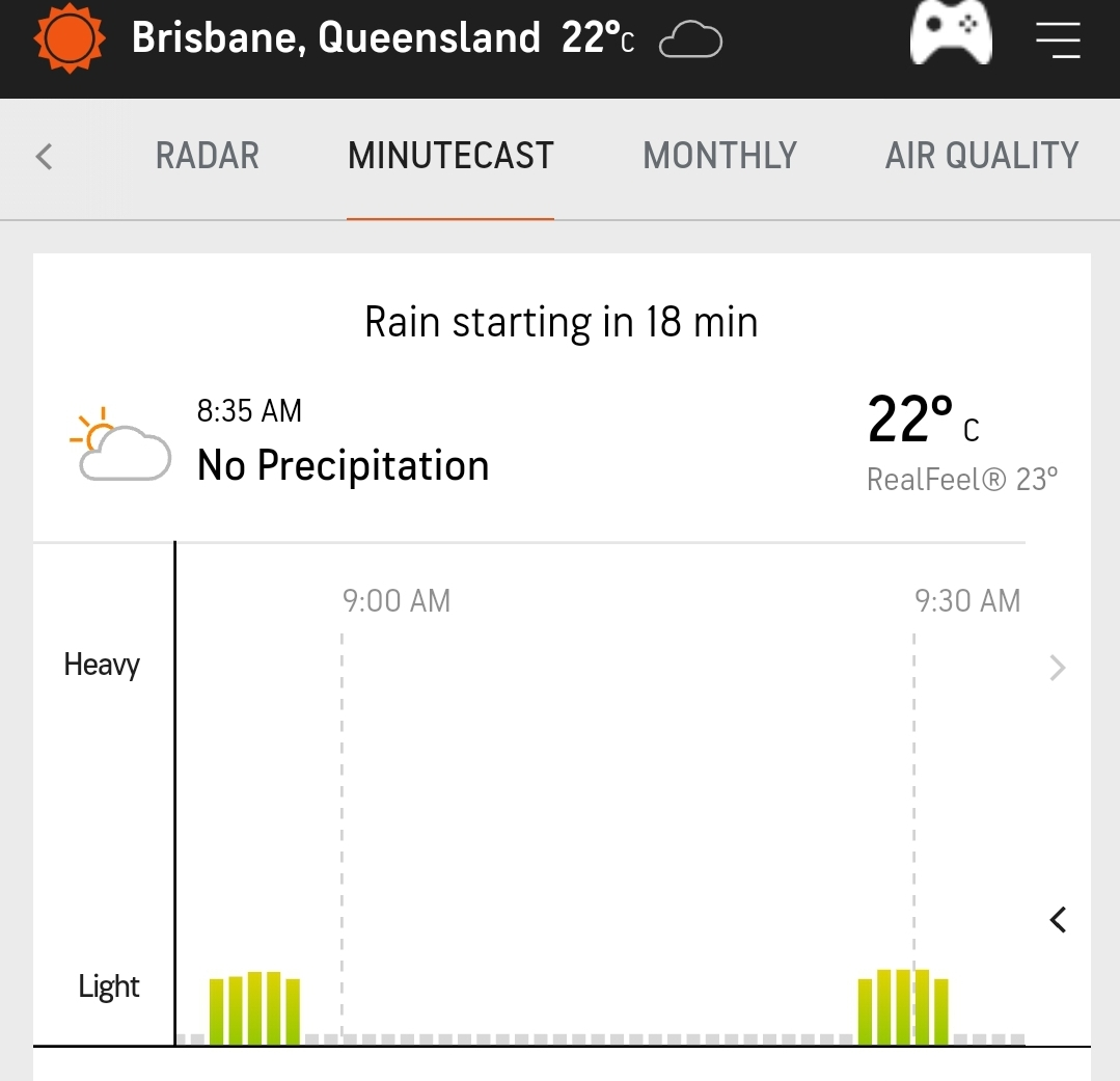 After two bouts of light rain forecasted 🌧 adding spice to the scrumptious day of test cricket, the rest of the day at @brisbanecityqld  looks like a result promising one. @CricketAus @BCCI @sports_tak @vikrantgupta73  #GoteamIndia #TeamIndia
