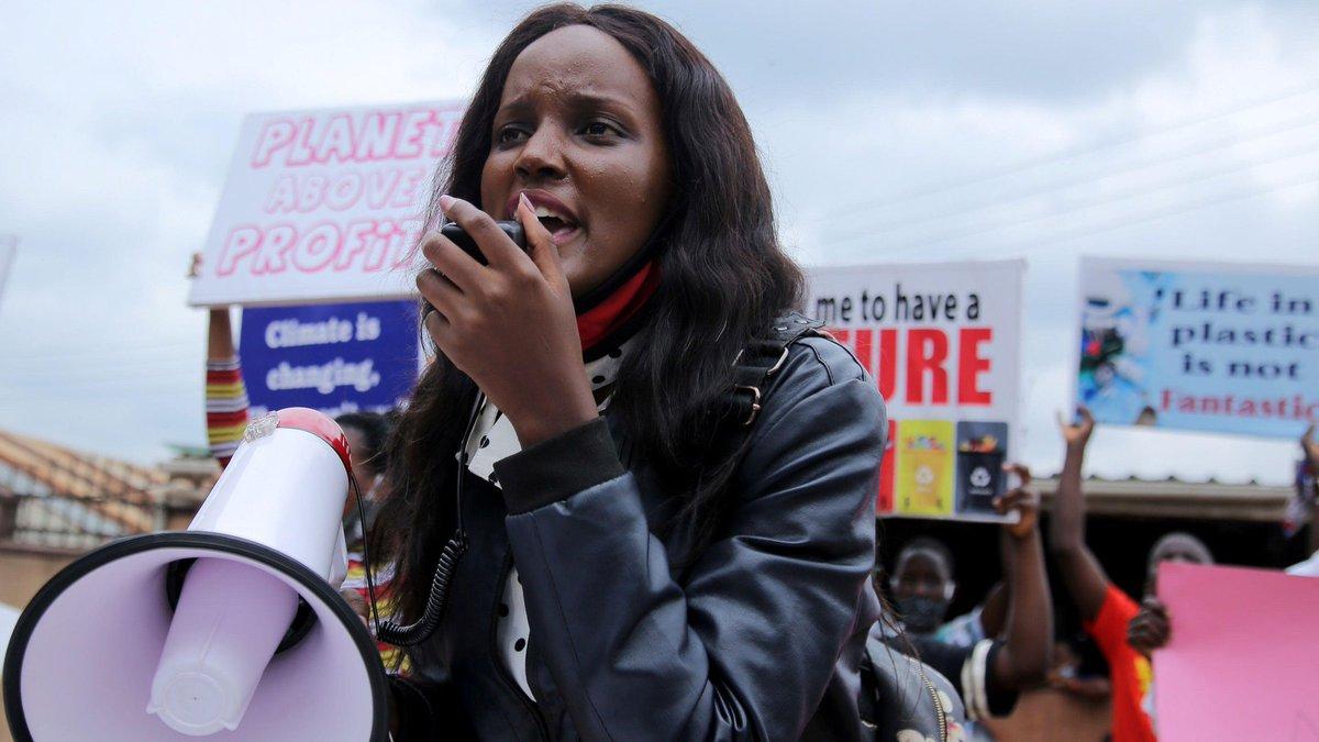 """""""Una subida de 1'2 °C ya supone un infierno"""": La activista ugandesa contra el cambio climático Vanessa Nakate nos urge a actuar ya https://t.co/kTiLcGQEZ6 https://t.co/KxmTAfPUId"""