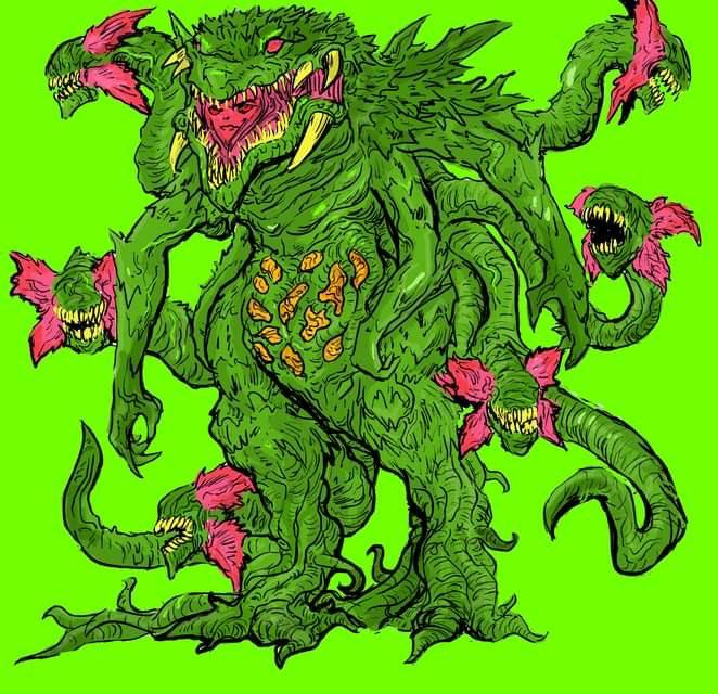#biollante #godzilla #plantmonster #kaiju #creature #monster #fanart #doodle #sketch #ビオランテ #art