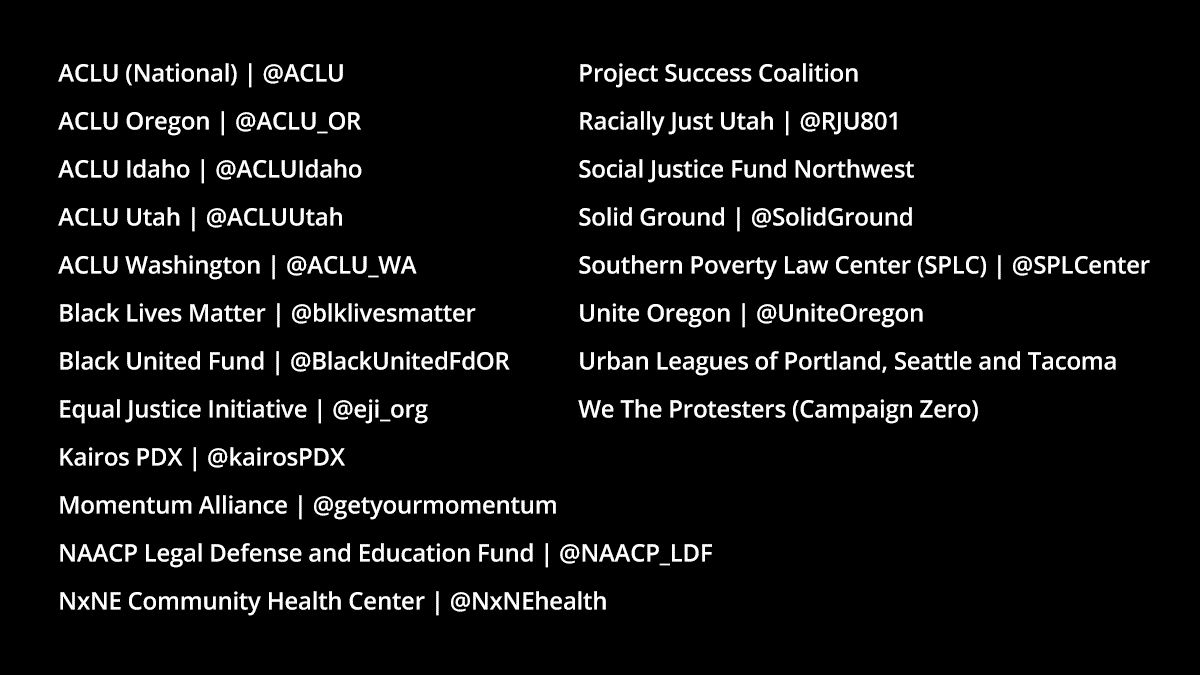 Employees from our Black Organization for Leadership Development (BOLD) group put together a list of 20 organizations working to promote racial justice and a more inclusive world. Join us in support:  https://t.co/p14OcjGlBc   #MLKDay2021 https://t.co/EJZ02PoOEX