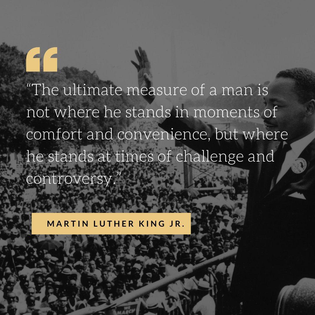 Martin Luther King Jr. non era solo un attivista, era un comunicatore e un leader del movimento per i #diritticivili. Lui ha ispirato la gente a vivere in armonia e all'armonia.  ~ Stand up for #justice and #diversity. Show #kindness to all.  #MartinLutherKingDay